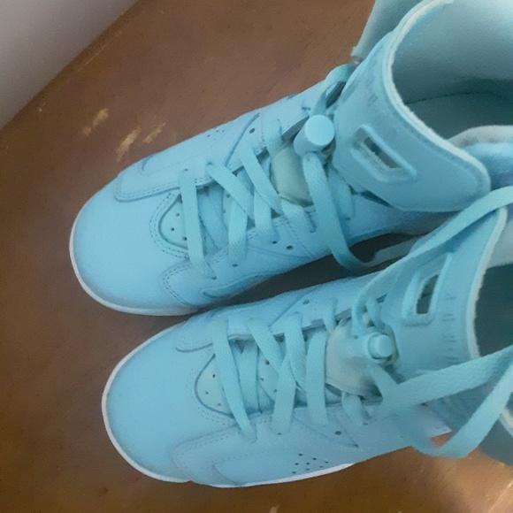 baby blue jordans 23